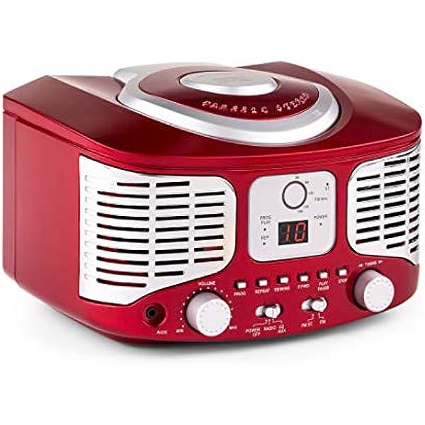 auna - RCD320, Radio CD, Equipo estéreo, Radio de Cocina ...