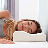 Ozoy Memory Foam Cervical Contour Medical Pillow for Sleeping Orthopedic Pillows for Neck Back Shoulder Support Pain…