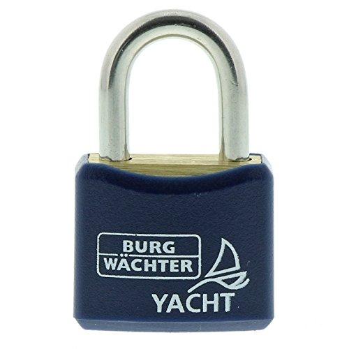 Burg-Wächter Vorhängeschloss, 3,5 mm Bügelstärke, 2 Schlüssel, Yacht 460 Ni 20 SB, 1 Stück