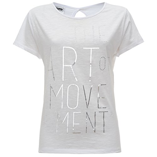 Fred Perry, T-Shirt Femme Bianco