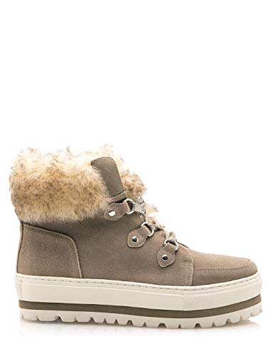 SIXTY SEVEN Beige fur Boots by Sixtyseven (39 - Beige)