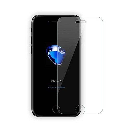 [1 Stück] Panzerglasfolie Schutzfolie für iPhone 7/8,IOOI Gerundete Kanten (2.5D) 9H Härte Anti-Bläschen Anti-Fingerabdruck Gehärtetem Glas Displayschutzfolie Screen Protector für iPhone 7/8 4.7 inch
