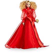 Barbie Bambola Bionda Celebrativa del 75° Anniversario dell'Azienda, Giocattolo per Bambini 6+ Anni, GMM98