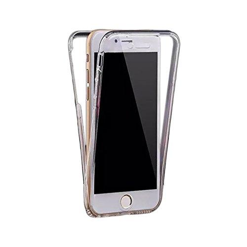 Easyplace-360-Fronte-Retro-Custodia-per-iPhone-7-SiliconeTPU-Trasparente
