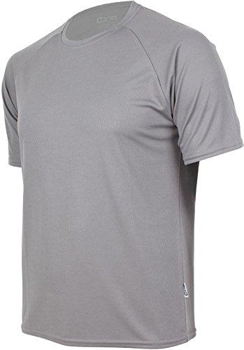 Basic Funktions - Sport T-Shirt in vielen Farben Grau