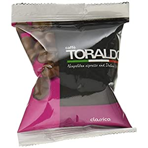 100 Capsule Compatibili Nespresso Caffè Toraldo Miscela Classica