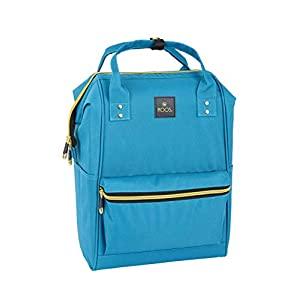 Moos «Blue» Oficial Mochila Juvenil Con Asas Para Portátil Hasta 13″, 270x190x400 mm