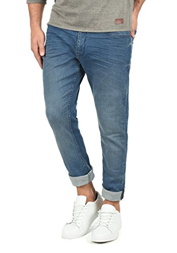 Blend Taifun Herren Jeans Hose Denim Aus Stretch-Material Slim Fit, Größe:W32/30, Farbe:Denim middleblue (76201)