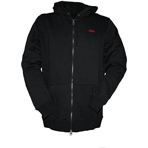 Nike 6.0Full Zip Sudadera con capucha negro, negro, L
