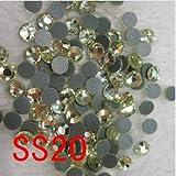 ASTONISH 1440pcs / bag, SS20 (4.6-4.8mm) piedras rhinestone caliente del arreglo junquillo con motivos, de cristal cortado diamantes de imitación dmc