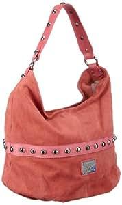 Belmondo 309405MO, Damen Schultertaschen, Pink (pink), 43x33x16 cm (B x H x T)