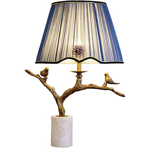 Reines Kupfer Vogel Gartenlampe Wohnzimmer Schlafzimmer Studie Nacht Fernbedienung Dimmlampe