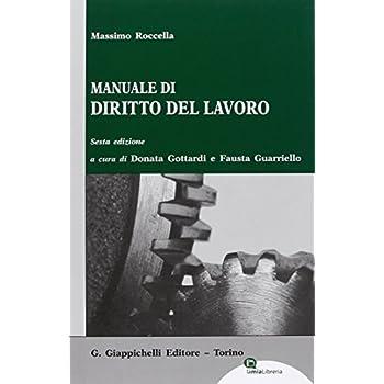 Manuale Di Diritto Del Lavoro