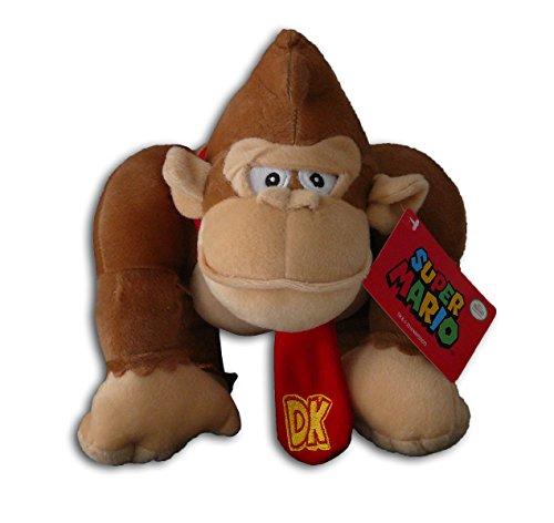 Donkey Kong 30cm Super Mario Bros Muñeco Peluche Gorila Videojuego Nintendo Chico Original Nuevo Super Suave Gran Calidad Serie TV Juego