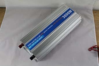 Crête 6000w onde sinusoïdale modifiée Onduleur 3000W DC 12V à 220V AC convertisseur de puissance avec charge de la batterie Fonction Power Inverter