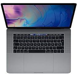 """Apple Macbook Pro - Ordenador portátil de 13"""" IPS Retina con Touch Bar (Intel Core i5 Quad-core 8ª Generación, 8 GB RAM, 256 GB SSD, Intel Iris Plus Graphics 655, macOS High Sierra), color Space Grey - Teclado QWERTY español"""