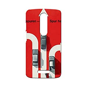 BLUEDIO Designer Printed Back case cover for Motorola Moto X3 (3rd Generation) - G7785