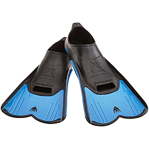 Cressi Light - Aletas de natación, color azul, talla 35-36