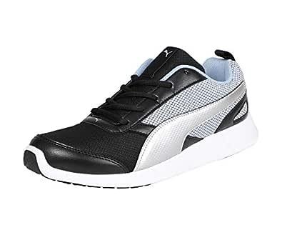 Buy Puma Unisex's Black Sneakers-8 UK