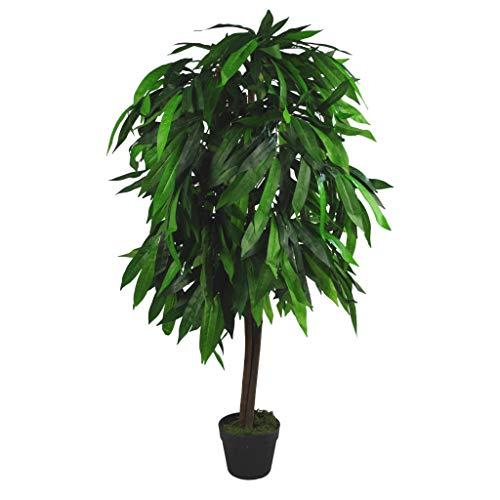 Leaf XL Kunstpflanze Mangobaum, 120 cm hoch