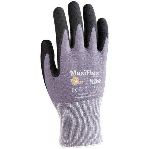 34-874 Medium Maxiflex Ultimate Gloves, Medium, 12 Pairs/Pkg. by stanleysupply