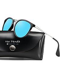 333836d675306 Hat Panda Gafas de Sol Polarizadas UV400 Gafas de Sol Polarizadas Metal de  Moda para Conducción