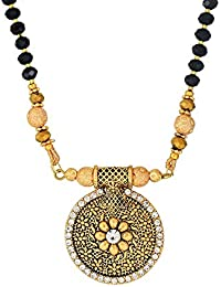 6ca350aa1c DzineTrendz Gold plated Brass, exquisite handmade and carved, round shape,  rich heritage Traditional