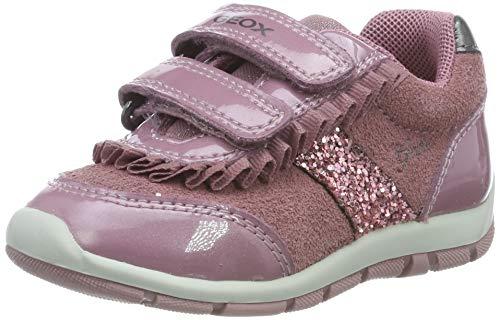 Geox B Shaax C, Zapatillas para Bebés, Rosa Dk Pink C8006, 26 EU