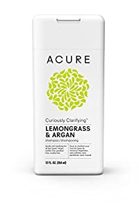 ACURE - Curiously Clarifying Shampoo Lemongrass & Argan - 12 fl. oz.