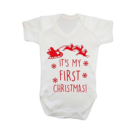 aby Strampler Weihnachtsmann Rentier Druck Kurzarm Neugeborenen Overall Mädchen Jungen Kostüm (Weihnachtsmann Kostüm Für Baby Jungen)