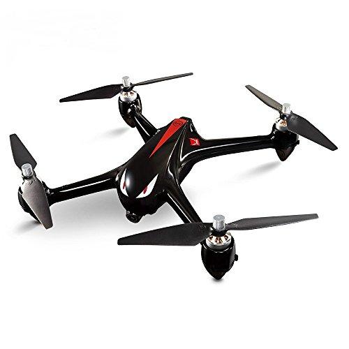 MJX Bugs 2 B2W Brushless RC Drone RTF 5 GHz WiFi FPV 1080 P Full HD / GPS-Positionierung / 2,4 GHz 4CH Zwei-Wege-Sender, Schwarz