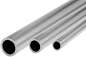 Aluminium Rohr Ø 60x2mm AlMgSi0,5 Länge wählbar Alu Rundrohr Profil Alurohr