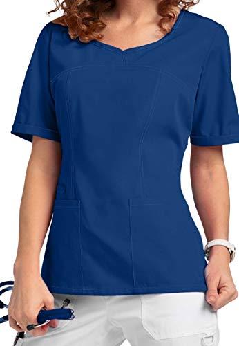 Smart Uniform V-Neck Modern Fit Scrub046 1121 (XXL, Marine [Navy] 1)