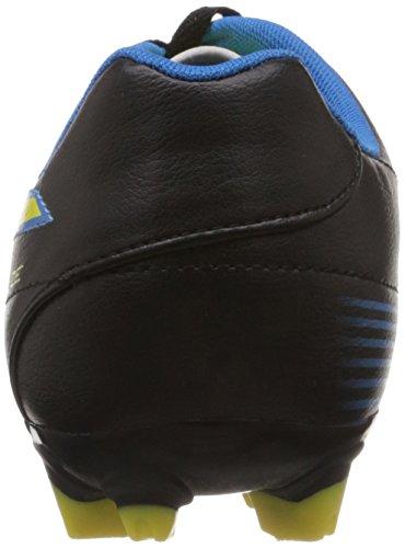 Puma Football Shoes Velize II FG Mens Black Schwarz  black-blazing yellow-brilliant blue 02  Size  11  46 EUR
