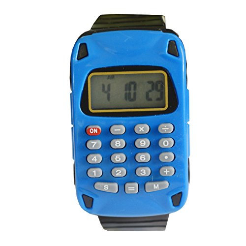 VITREND Car Style-03 Calculator Dial New Digital Watch - for Boys & Girls (Sent as per Available Colour )
