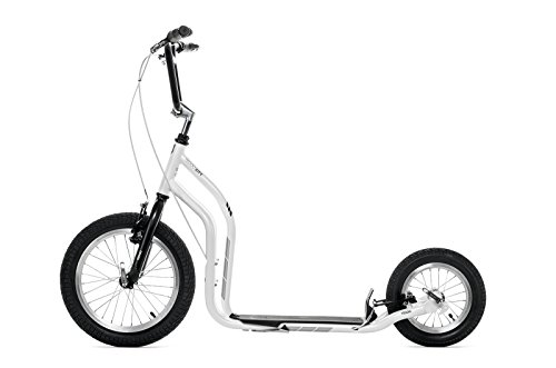 Yedoo Scooter/Tretroller CITY - NEW Model 2014 (Wiess-Schwarz)