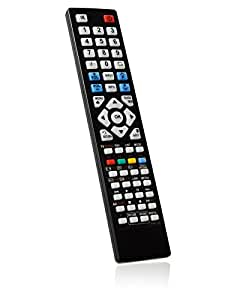 brc3.18422Télécommande de rechange spécialement conçu pour Philips/LED TV LCD 32PFL4606H/12–bonremo® Edition avec piles