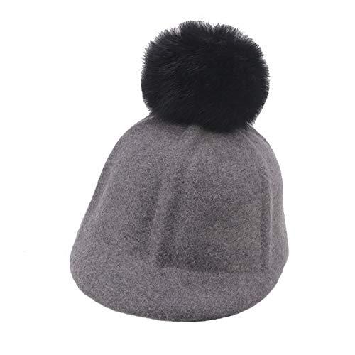 CYSJW-Im Herbst und Winter Meine Damen Wolle und Pferd-Reiter-Hut Hut Mütze...