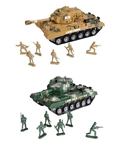 Kandy toys - Confezione da gioco con carro armato