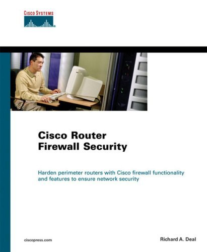Cisco Router Firewall Security (Networking Technology) by Richard Deal (10-Aug-2004) Paperback