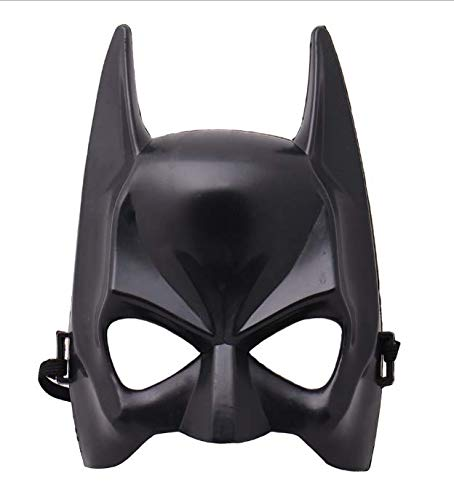LHZZ Halbes Gesicht Batman Maske schwarz Maskerade Kleid mit Rollenspiel Maske Bekleidungszubehör 1St