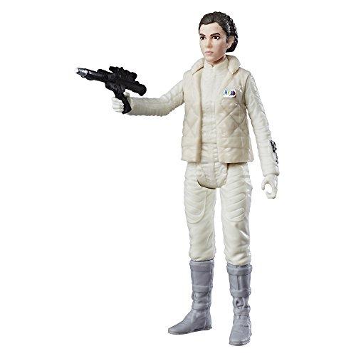 Star Wars Prinzessin Leia Organa Plant Hoth bewegliche Actionfigur mit Force Link 2.0