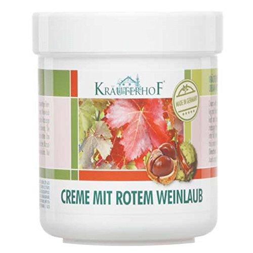 Rotes Weinlaub Creme von Kräuterhof 250ml