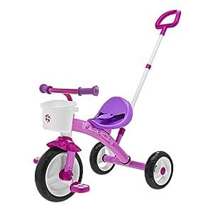 Chicco- U-GO Triciclo 2 en 1, Color Rosa (Artsana Spain 00007412100000)