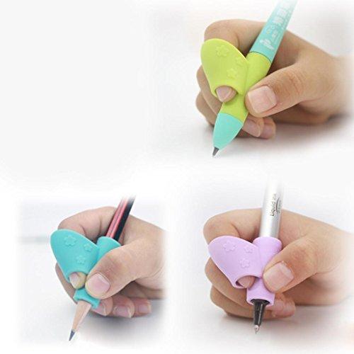 Preisvergleich Produktbild Dragon 3Pcs/Set Children Bleistift Pen Writing Aid Grip Haltung Korrektur Tool Neu
