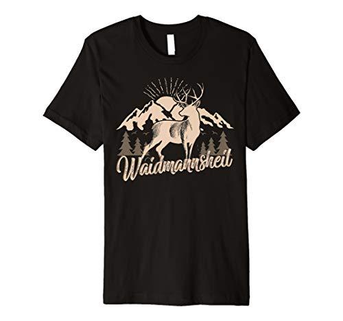 Männer Und Herren T-shirt Waidmannsheil Jäger Jagd Gift