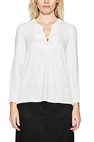 Esprit, Blouse Femme Blanc (Off White 110)