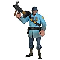 Team Fortress 2 - NECA Team Fortress 2 The Soldier Blue Action Figure 7 by Team Fortress 2