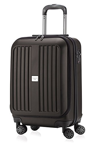 Capitale Valise série xberg Graphite Avec Combinaison TSA Mat 55 cm