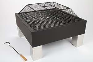 braciere 68cm barbecue da giardino barbecue acciaio inox (piedini) Prezzo di vendita consigliato 199,--